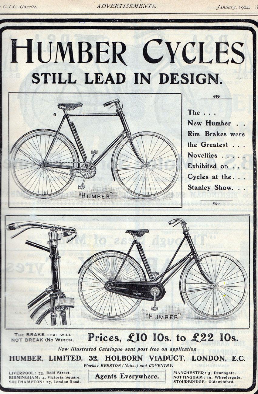 1904 Humber CTC Gazette