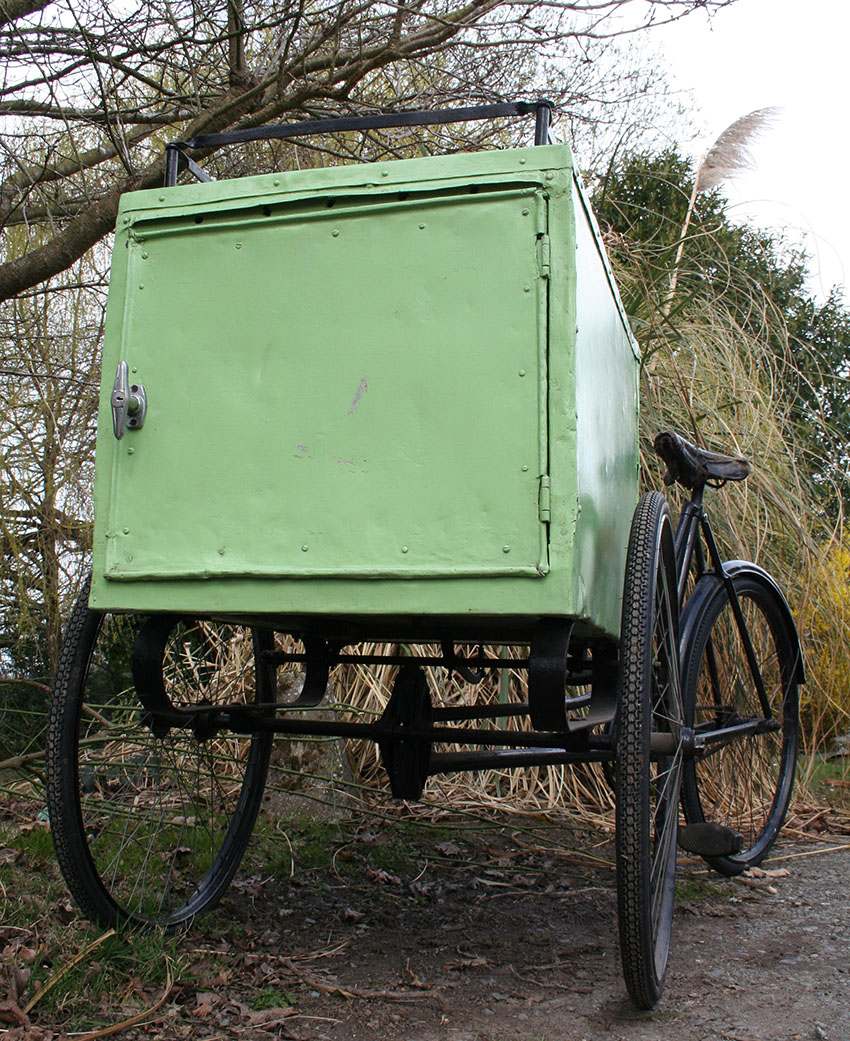 1919 Brown Bros Carrier Tricycle 04