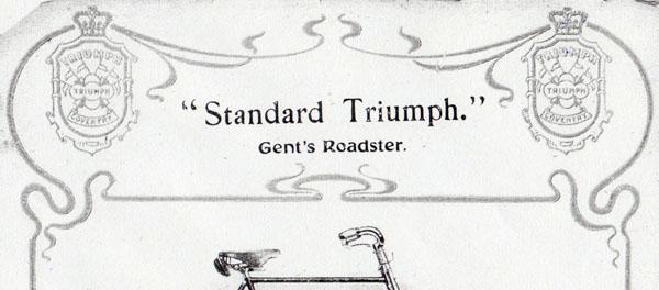 1905 standard triumph gents roadster