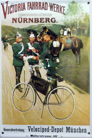 german victoria bicycle 1890s