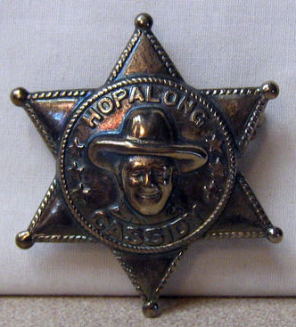 HOPALONG CASSIDY BADGE