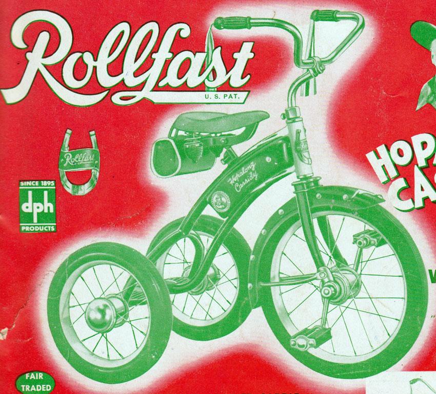 hopalong cassidy velocipede