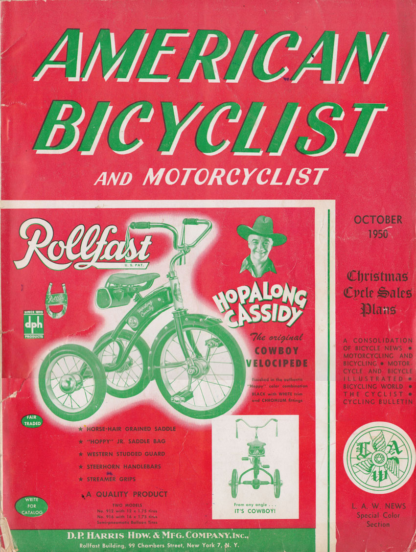 velocipede hopalong cassidy magazine 5 copy