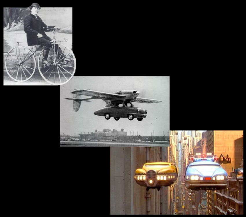 VELOCIPEDE TO FLYING CARS