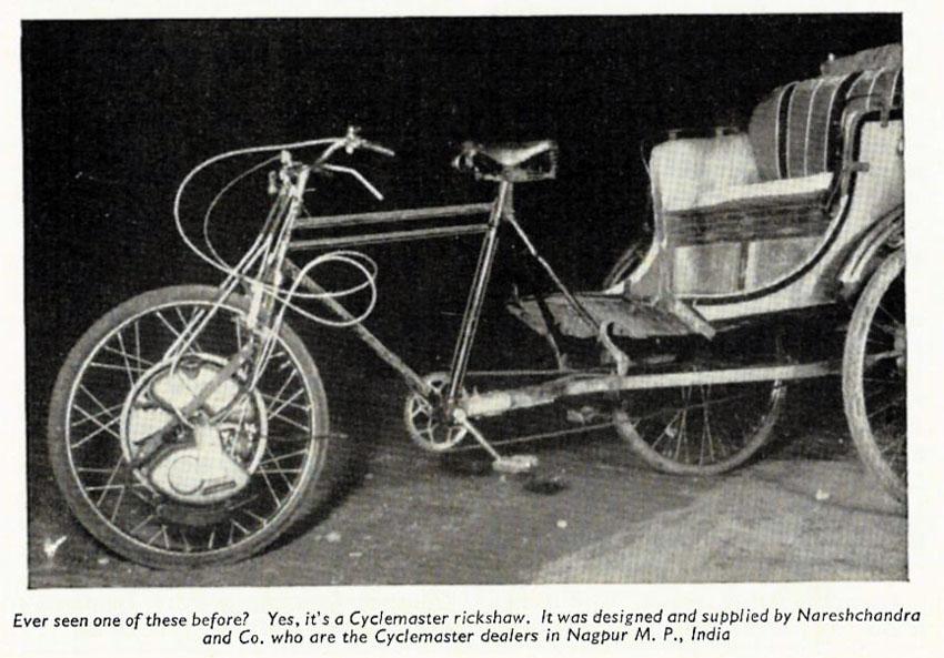 cyclemaster rickshaw