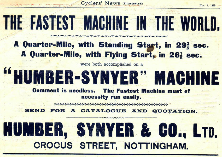 humber_synyer_advert_1895