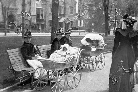 1880s prams