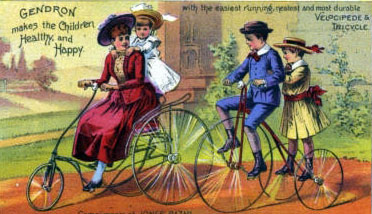 1885 velocipede tricycle
