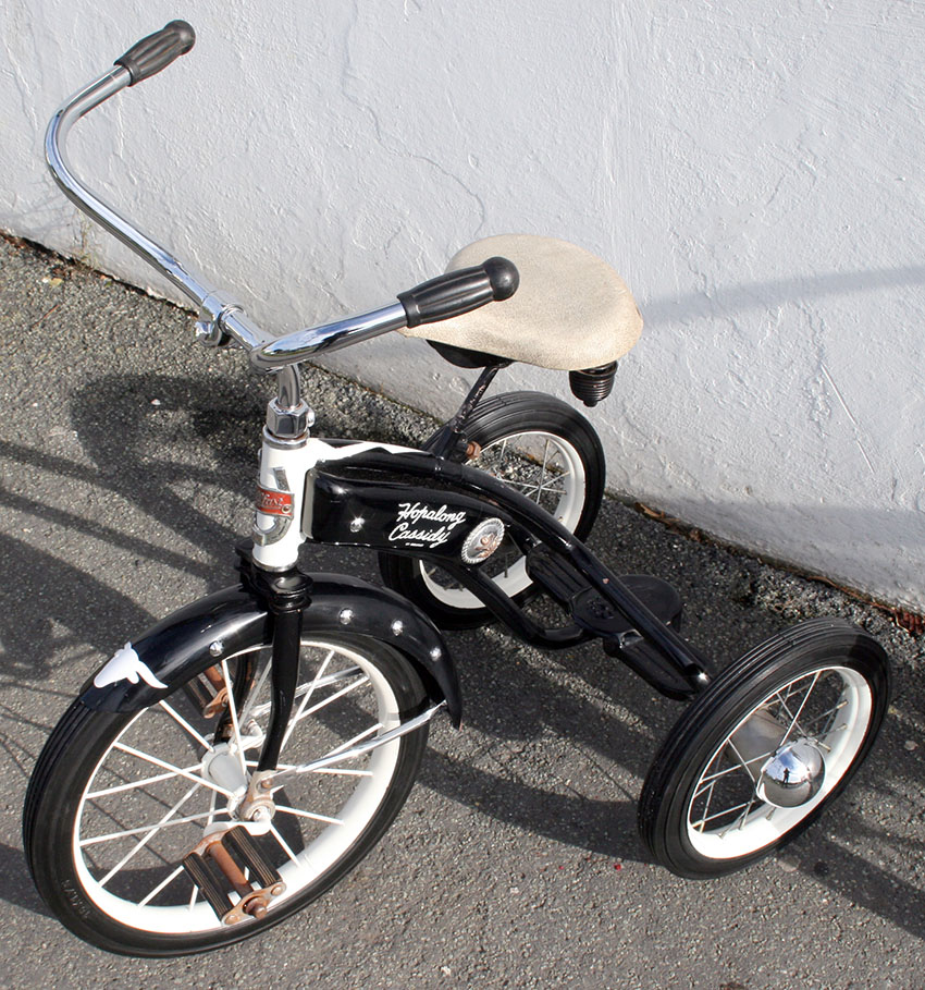 1952 Hopalong Cassidy Velocipede Tricycle 37