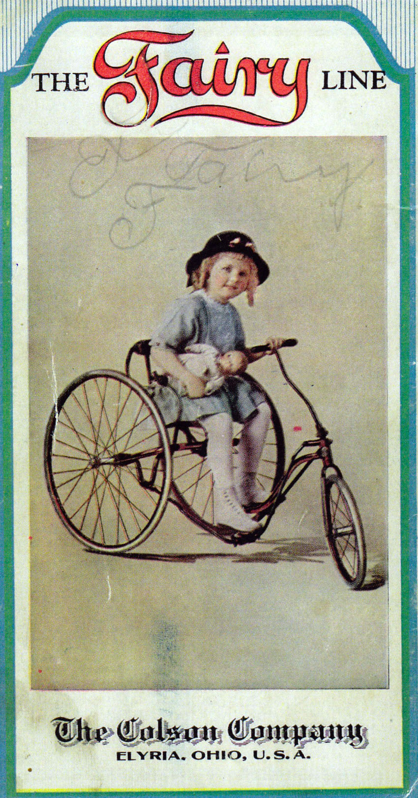 fairy velocipede tricycle 1911