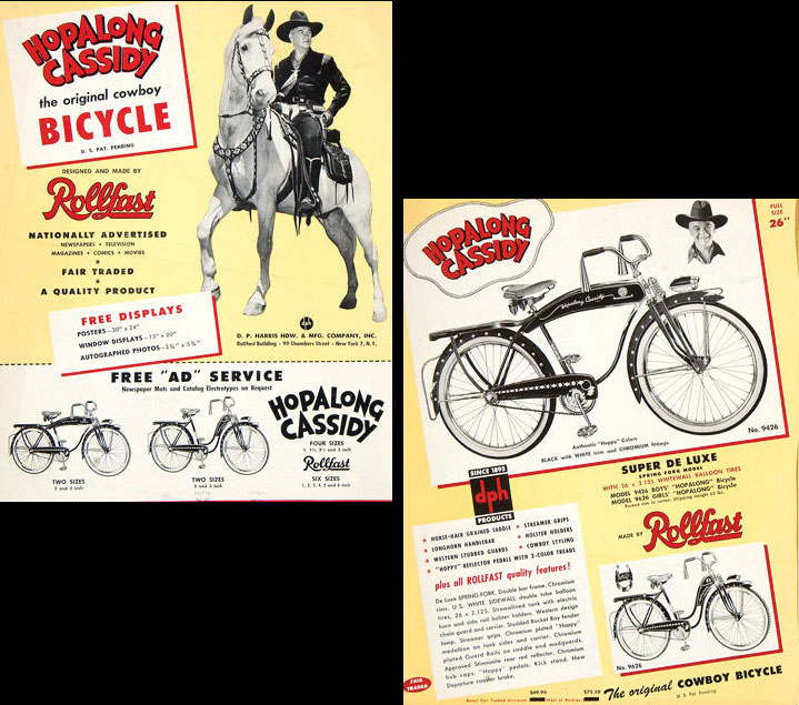 hopalong cassidy bicycle tricycle