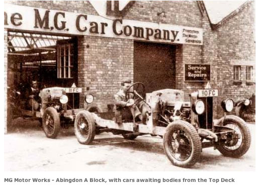 mg car co abingdon