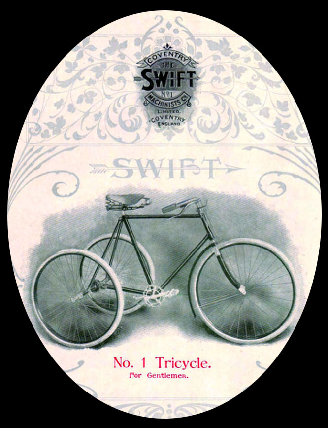 1904 swift tricycle 12
