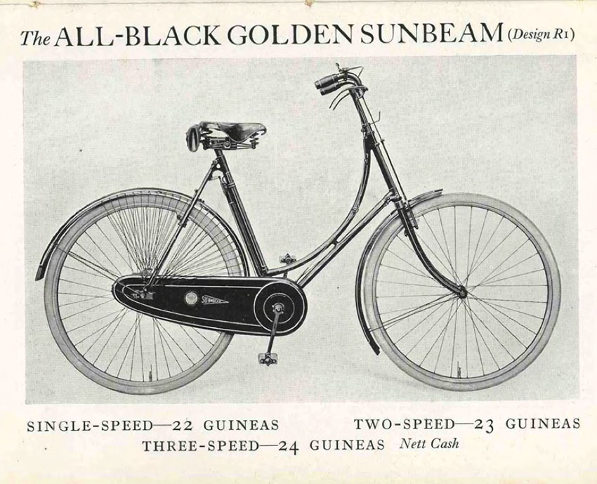 1919 All Black Golden Sunbeam 16