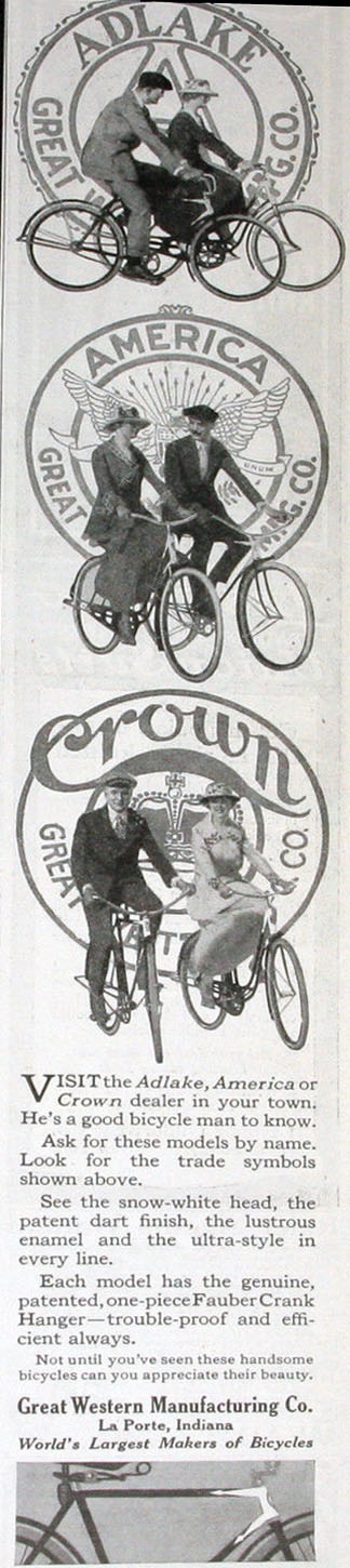 crown adlake bicycle