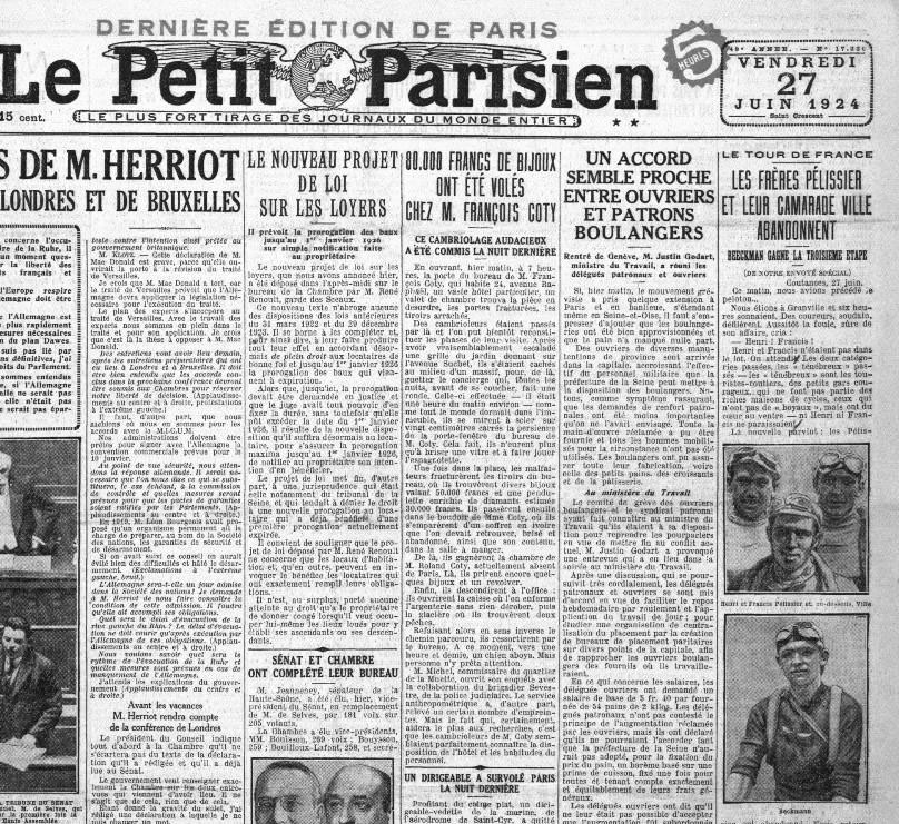Le Petit Parisian 1924