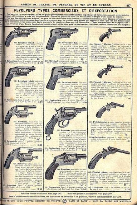 Pistolet Velo Dog Manufrance le Mignon_1