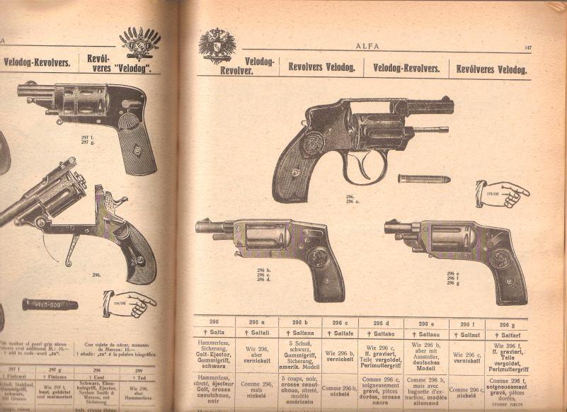 Pistolet de Poche VeloDog