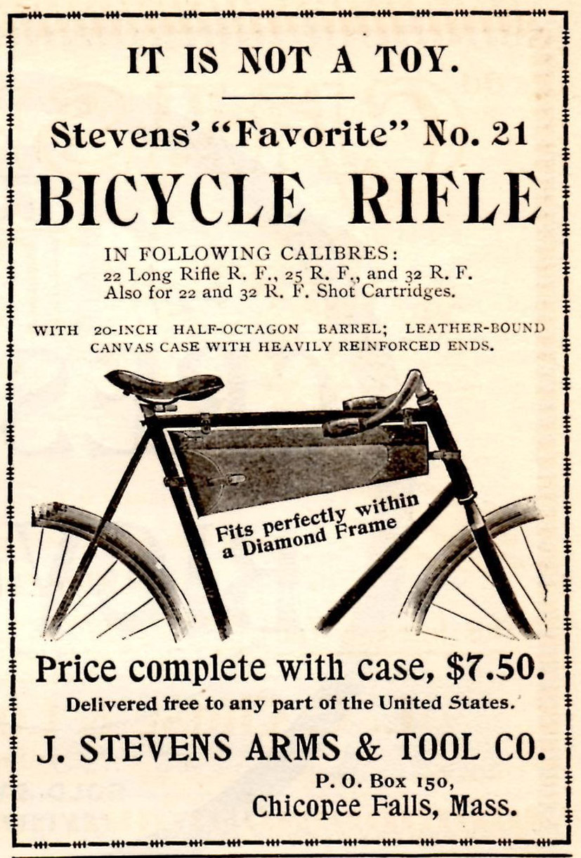 Stevens Bicycle Rifle