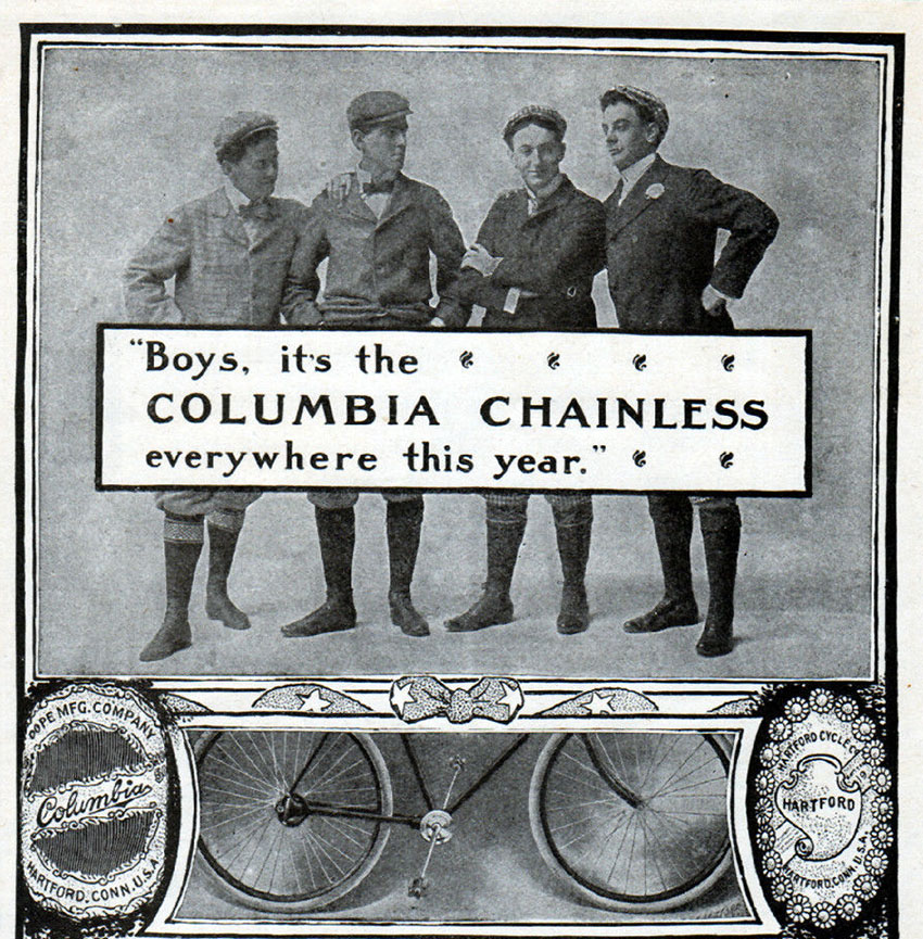 columbia chainless
