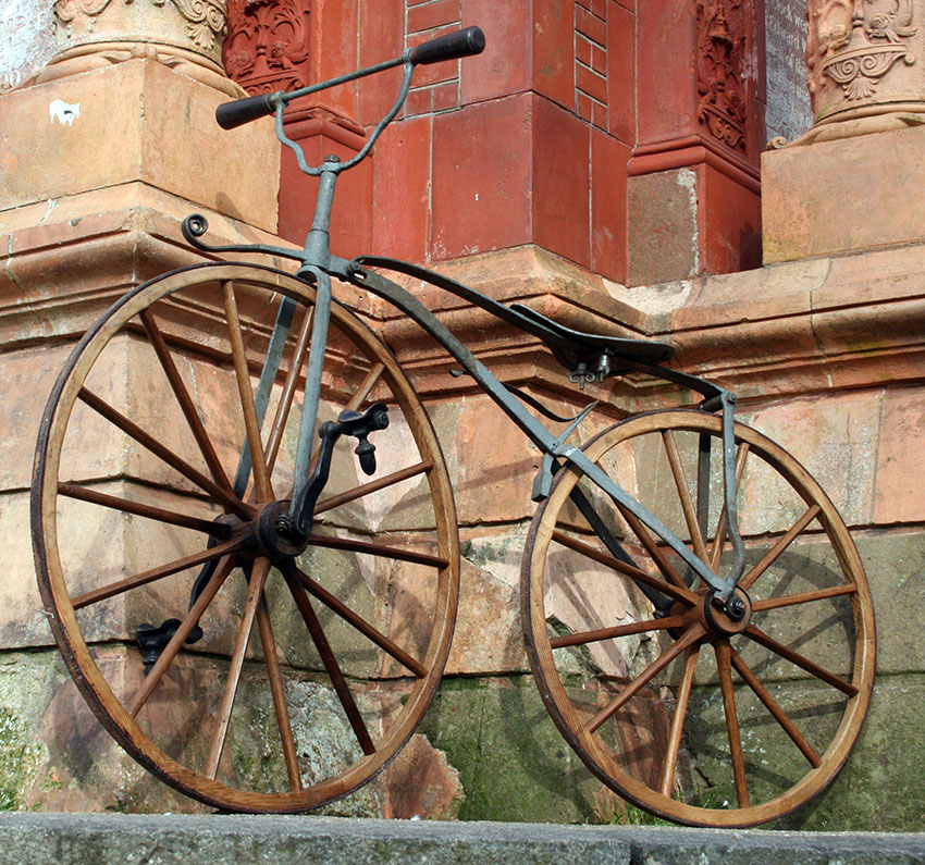 1869 English Velocipede 15