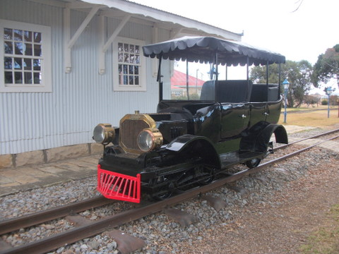 1910 BSA Railcar
