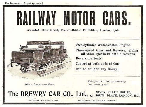 Drewry Railcar