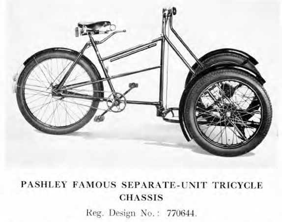 1930s Pashley Tradesmen's Delivery Tricycle 1
