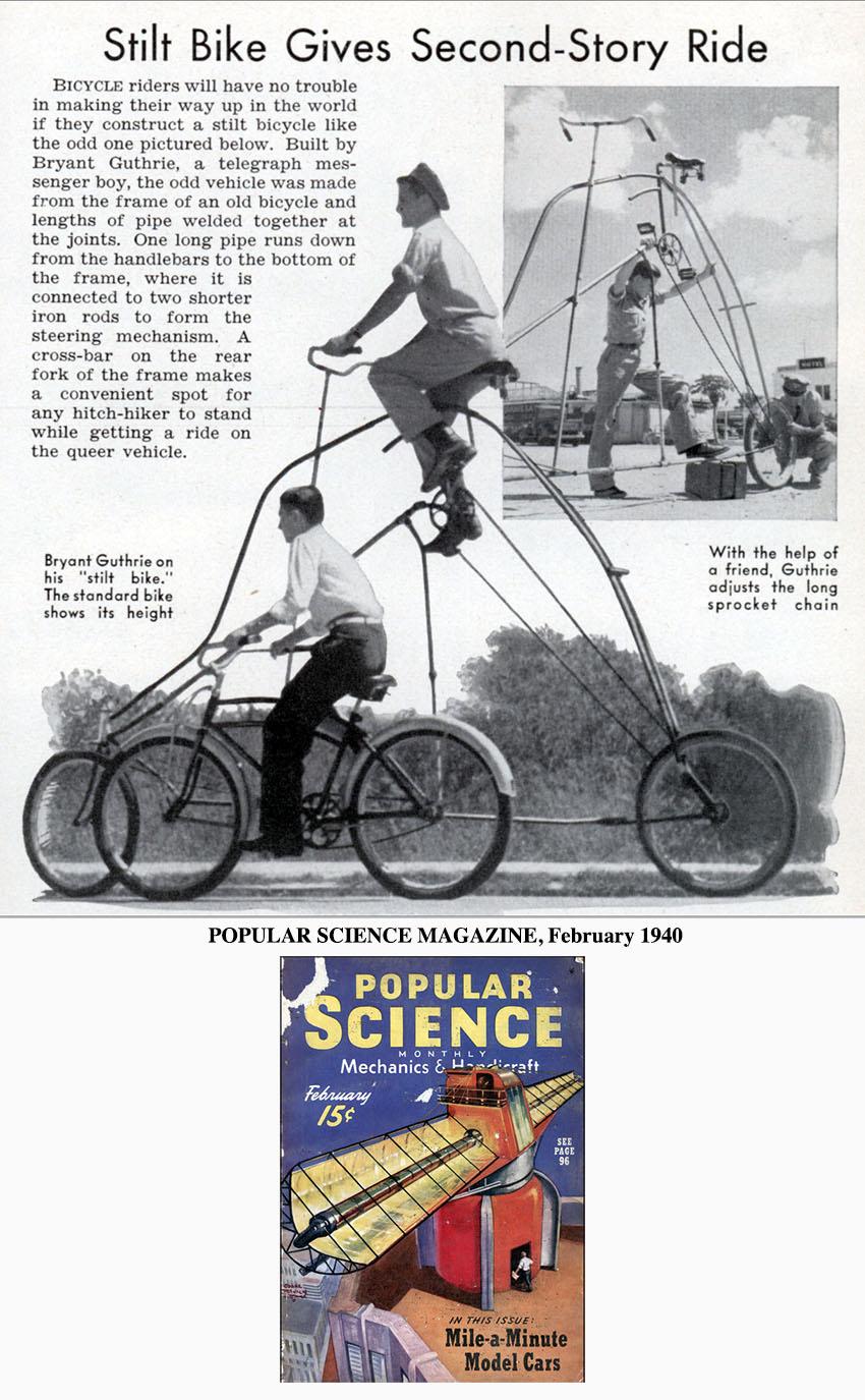 stilt bike