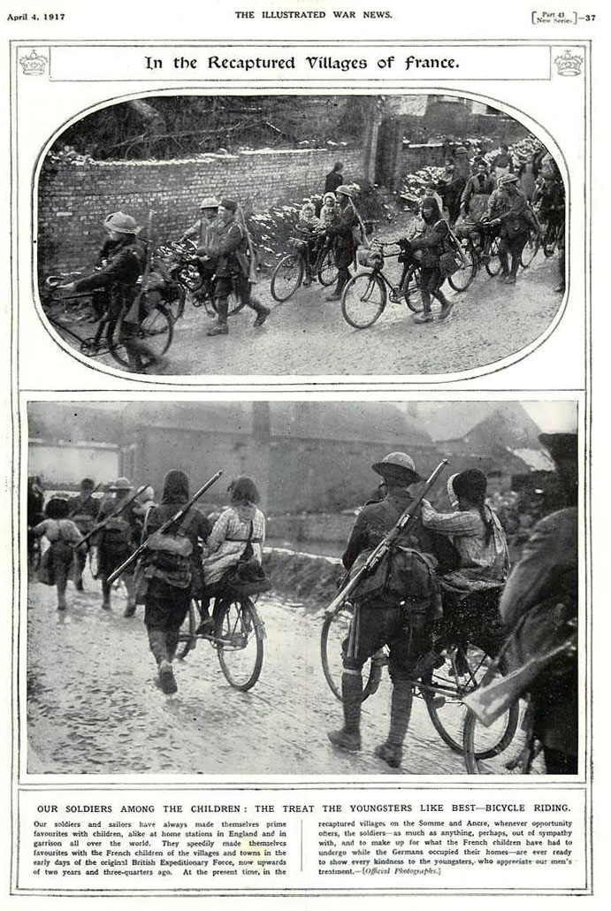 1917 illustrated war news WW1