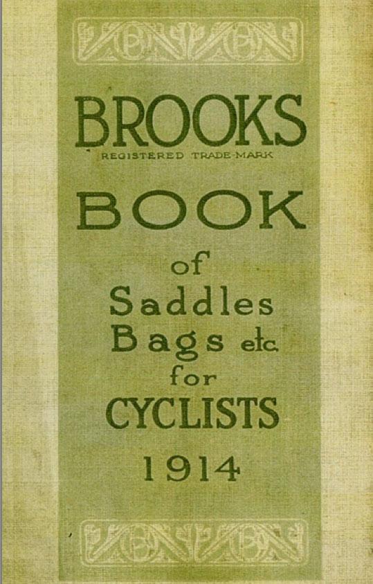 1914 Brooks Champion Flyer 19C Racing Saddle 3