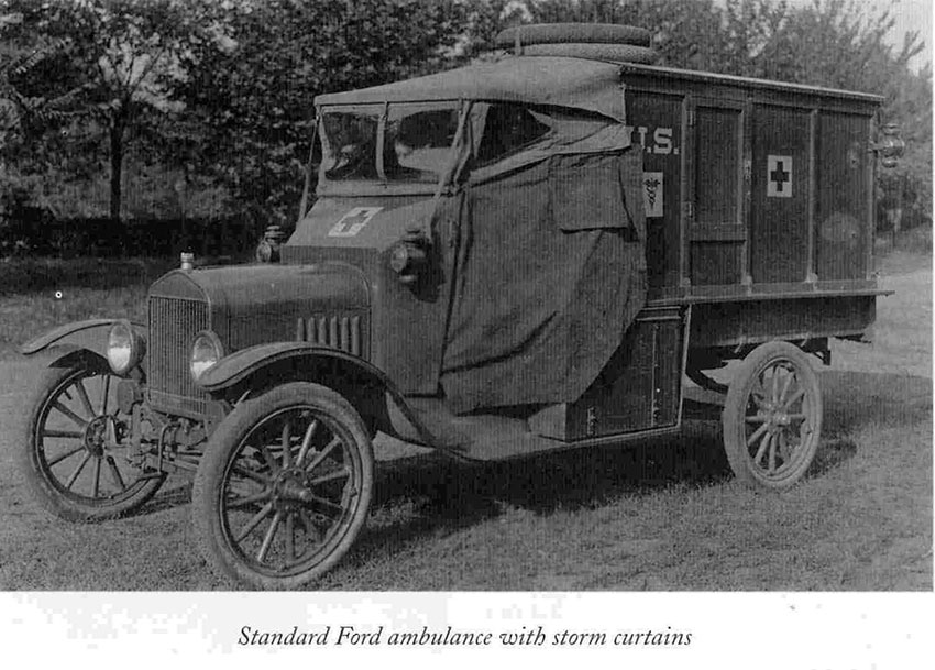 Ford Model T WW1 ambulance