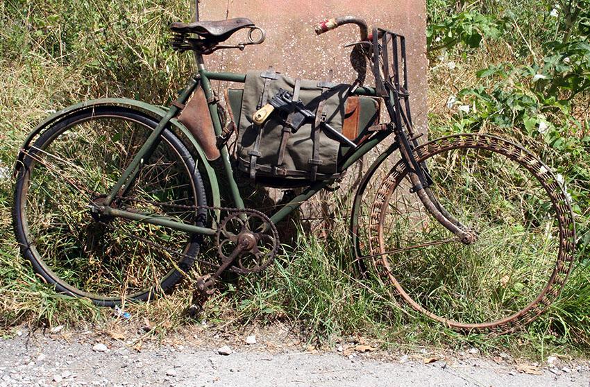 WW1 Germasn Bicycle Victoria Springwheel 01