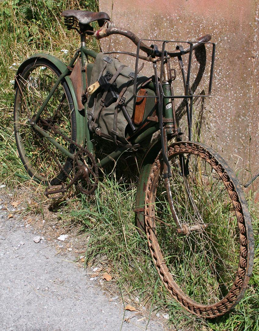 WW1 Germasn Bicycle Victoria Springwheel 07