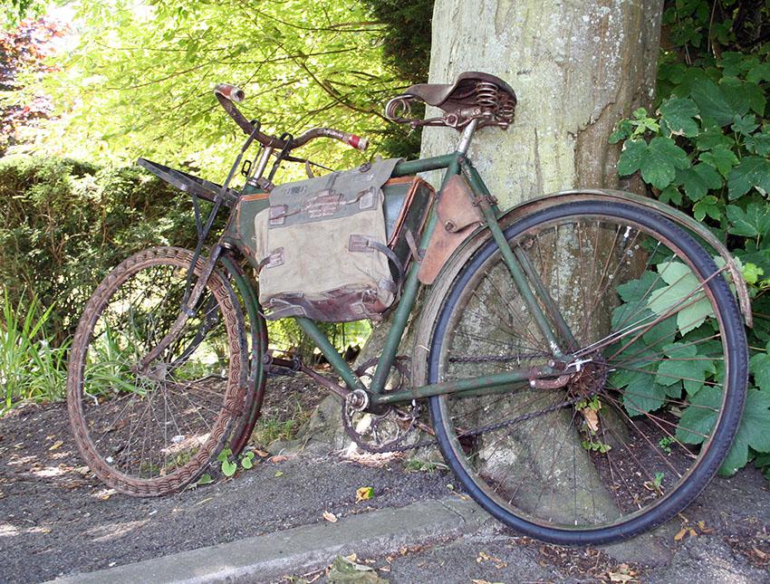 WW1 Germasn Bicycle Victoria Springwheel 10