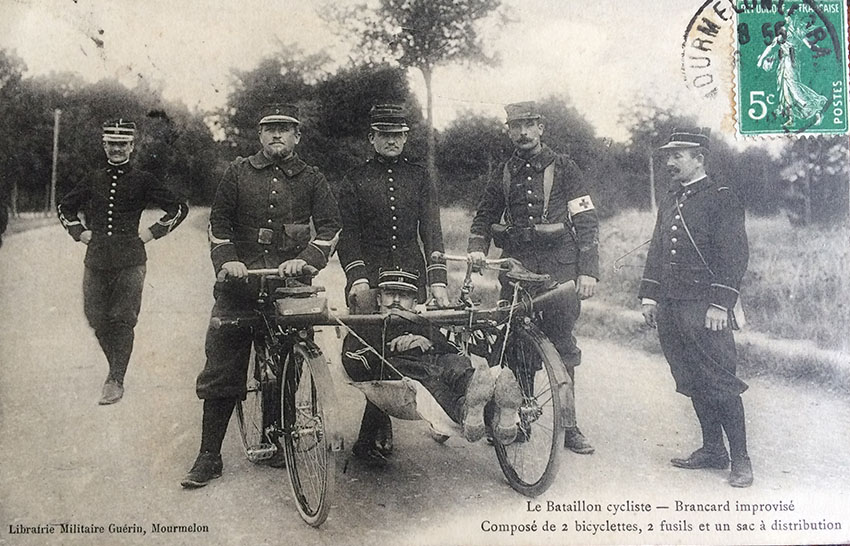 WW1 bicycle ambulance 05