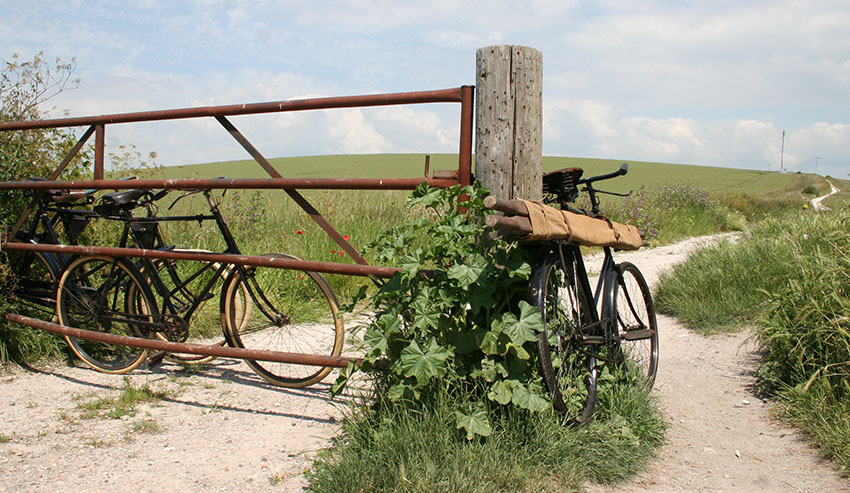 WW1 bicycle ambulance 94
