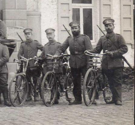 german ww1 bike front carrier