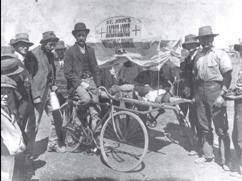 st johns bicycle ambulance