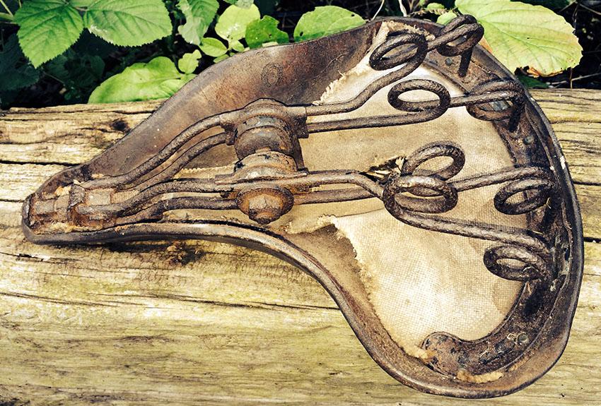 1914 Brooks Military Saddle 7