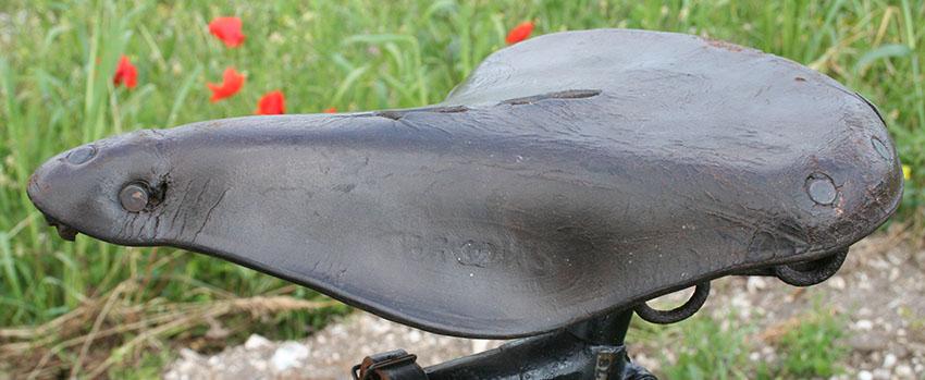 1914 Brooks Military Saddle WW1 2