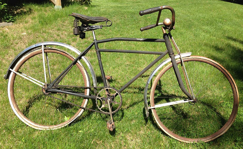 1920s western union messenger special bicycle