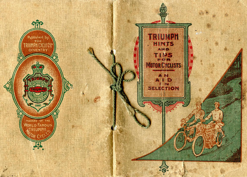 Triumph hints and tips 1911