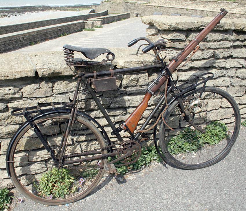 1916 New Hudson Military Bicycle WW1 78