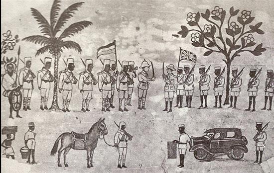 GERMAN SURRENEDER AFRICA WW1