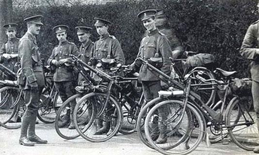 kent cyclist battalion new hudson