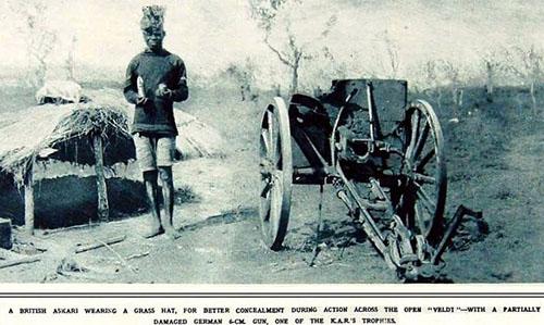 kings african rifles WW1