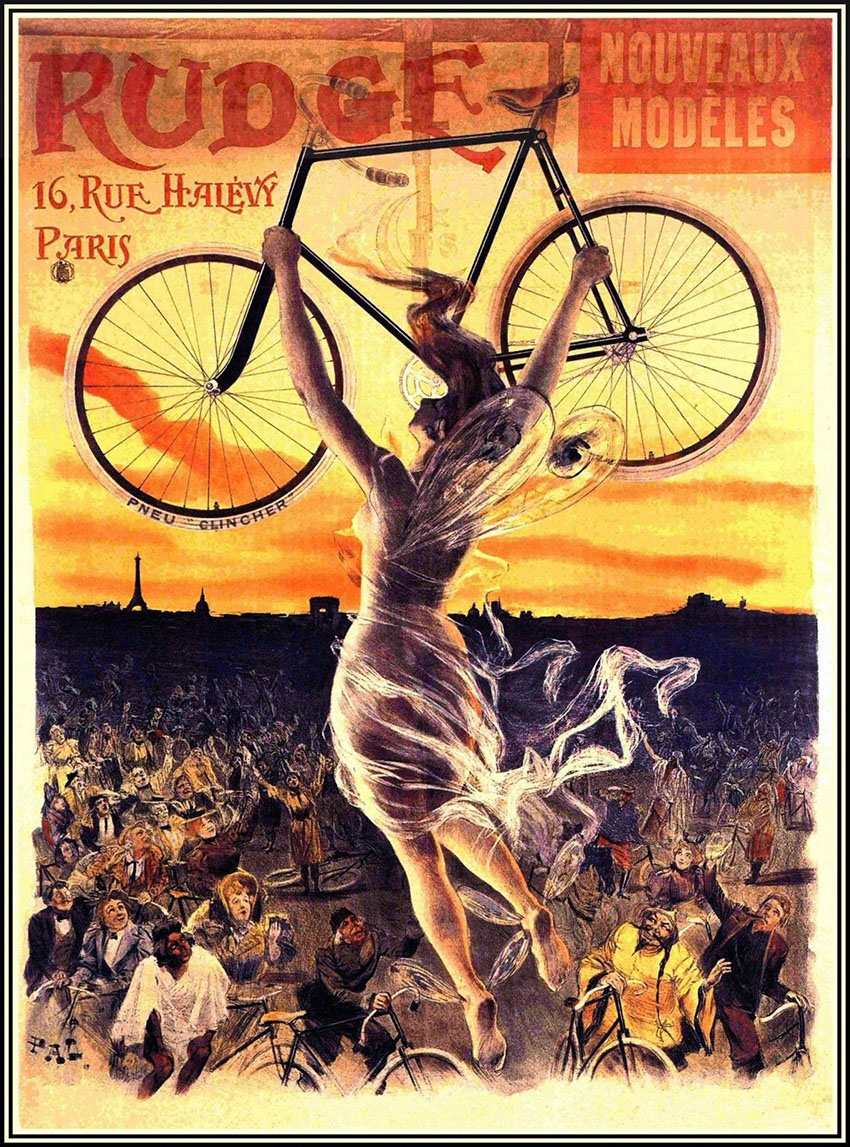 1898 Rudge Whitworth France poster