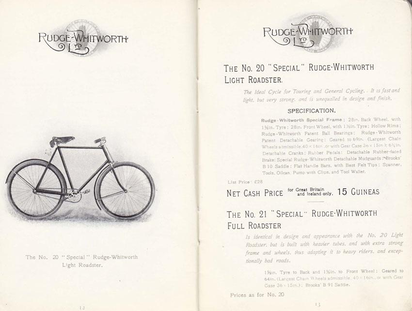 1899 RUDGE WHITWORTH CATALOGUE 3