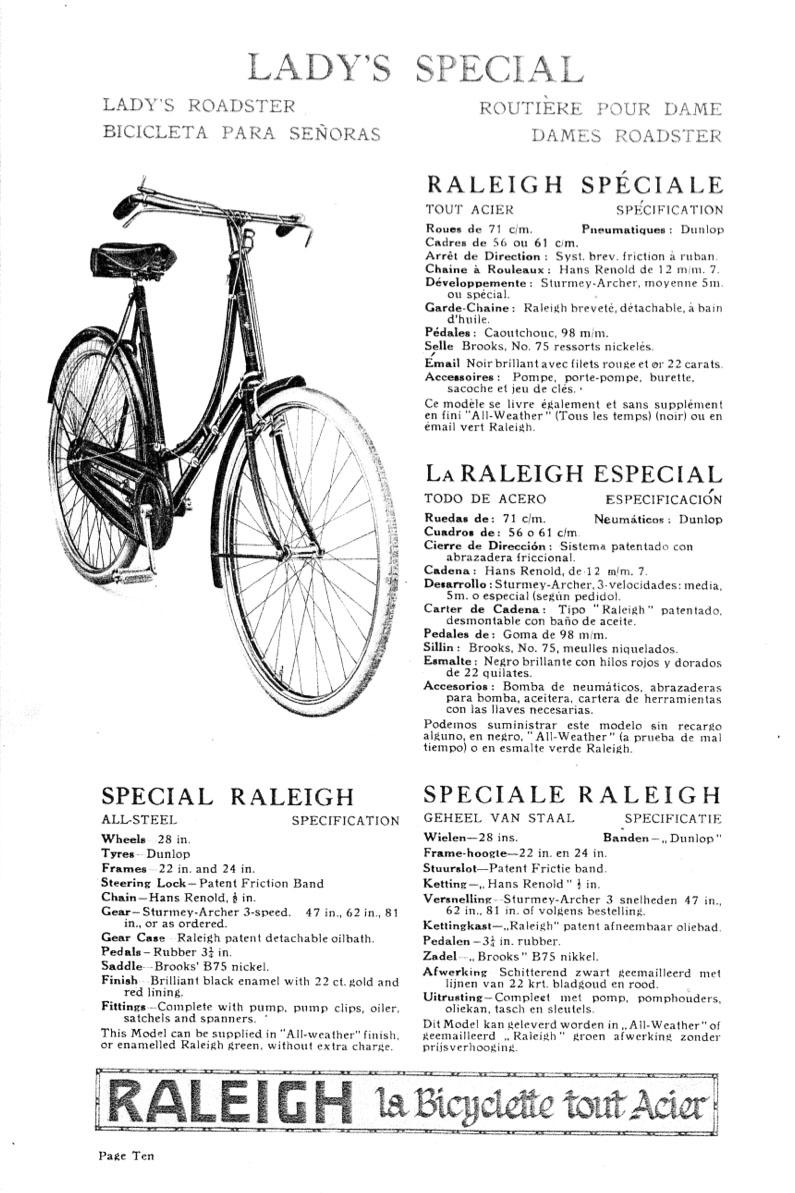 1923 Raleigh 112